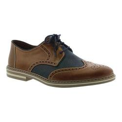Men's Rieker-Antistress Diego B8 Oxford Toffee/Navy/Sea/Zimt Leather/Synthetic