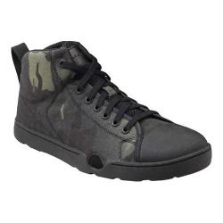 Men's Altama Footwear OTB Maritime Assault Mid Boot Black Multicam Cordura