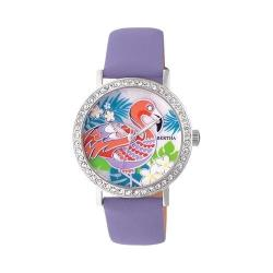 Women's Bertha Luna BR7701 Watch Lavender Leather/Mother of Pearl