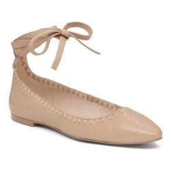 Women's Vince Camuto Braneeda Ballet Flat Powder Blush Nappa Leather (3 options available)