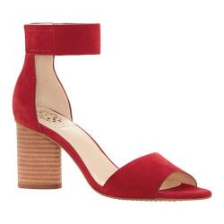 Women's Vince Camuto Jacon Ankle Strap Sandal Tribal Red Nubuck