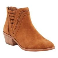 Women's Vince Camuto Pimmy Bootie Cocoa Bear True Suede