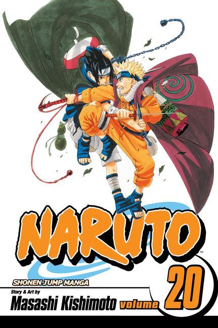 Naruto 20: Naruto Vs. Sasuke (Paperback)