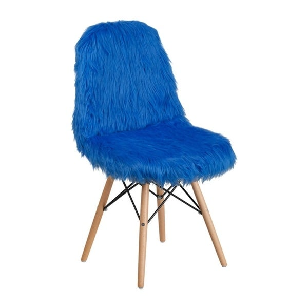 Shop Offex Contemporary Faux Fur Upholstery Shaggy Dog