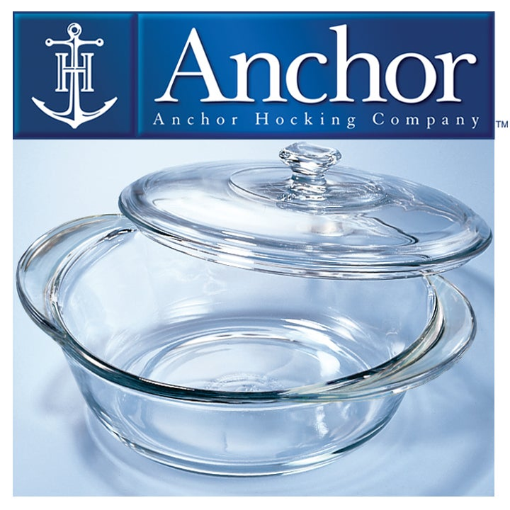 14pc Anchor Hocking Glass Bakeware Set with Triple Bonus - Thumbnail 1