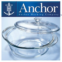 Anchor Hocking 34-piece Glass Ovenware Set - Thumbnail 1