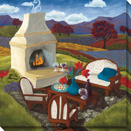 Gallery Direct Susie Webster 'Remnants of the Day' Canvas Art