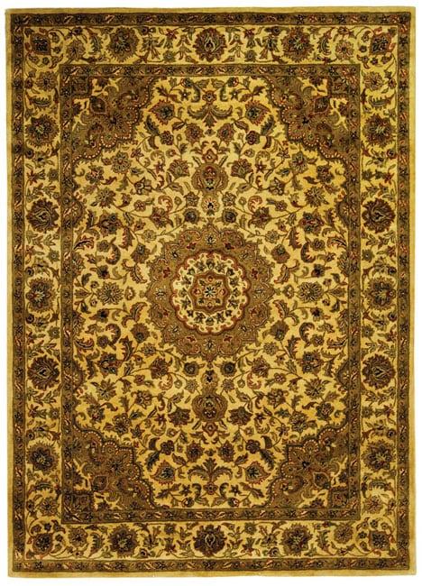 Safavieh Handmade Classic Birjand Ivory Wool Rug (9'6 x 13'6)