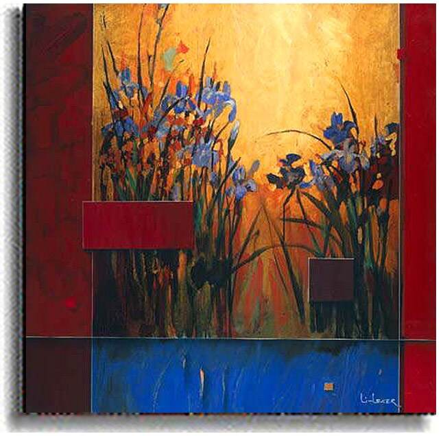 Iris Sunrise by Don Li-Leger Stretched Canvas Art