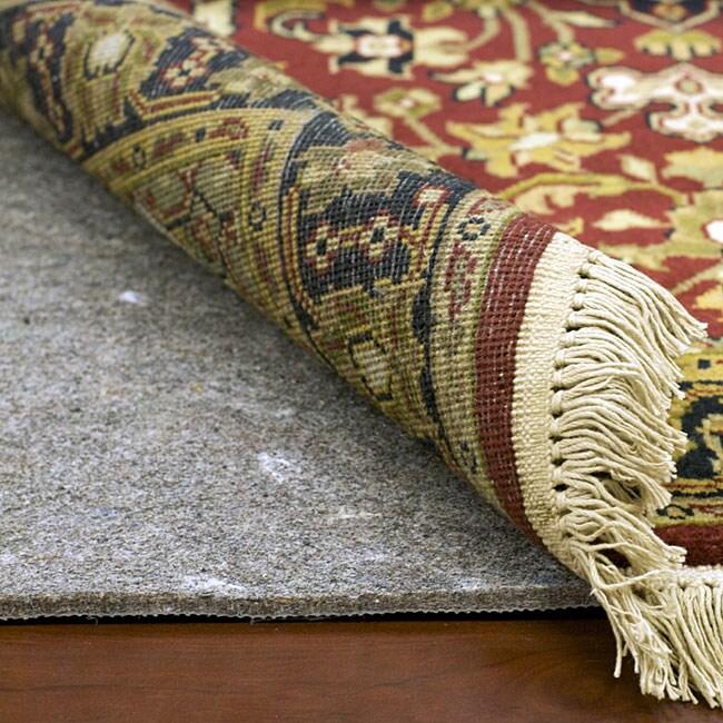 Superior Hard Surface and Carpet Rug Pad (2' x 8'), Gray,...