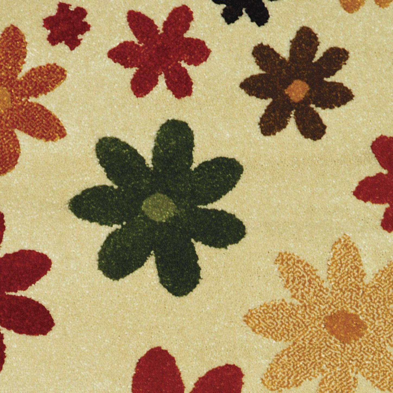 Safavieh Porcello Fine-spun Daises Cream/ Multi Area Rug (2' x 3'7) - Thumbnail 1