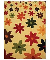 Safavieh Porcello Fine-spun Daises Cream/ Multi Area Rug - 8' x 11'2