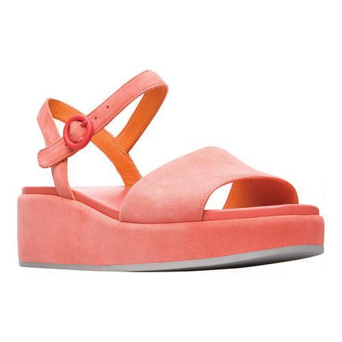 69b27b2dce31 Shop Women s Camper Misia Platform Sandal Coral Nubuck - Free Shipping  Today - Overstock - 21127809