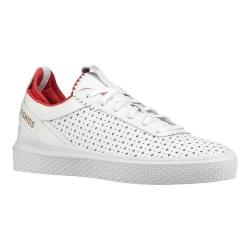 Women's K-Swiss Dani Perforated Sneaker White Perf/Poinsettia