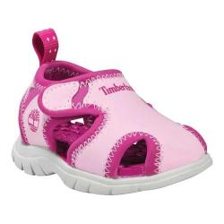 Children's Timberland Little Harbor Closed Toe Sandal Pink/Pink Synthetic