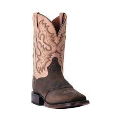 Men's Dan Post Boots Vance Cowboy Boot DP4852 Chocolate/Bone Leather