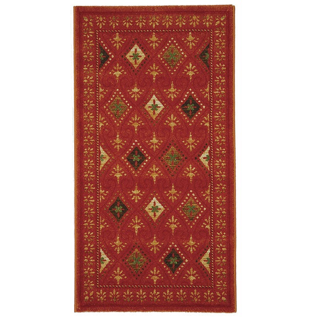 Safavieh Porcello Fine-spun Regal Orange/ Multi Area Rug (2'7 x 5')