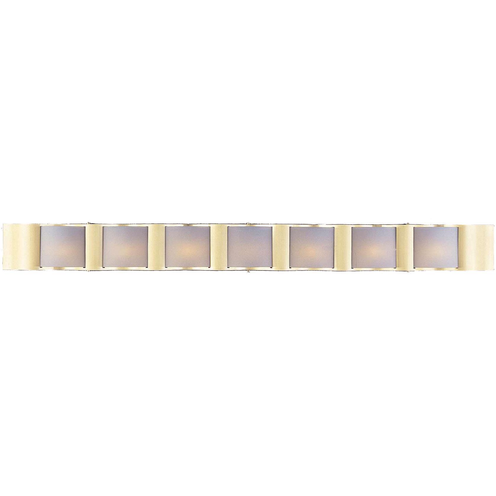 Metro II 7-light Satin Brass Bath Light