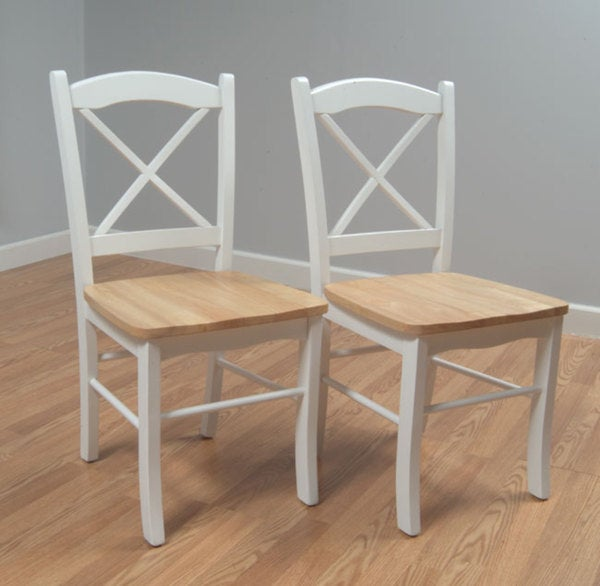 Simple Living Country Cottage Dining Chair Set Of 2 Free Shipping
