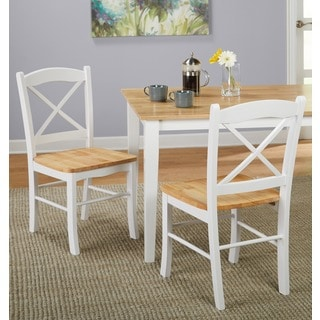 simple living country cottage dining chair set of 2https