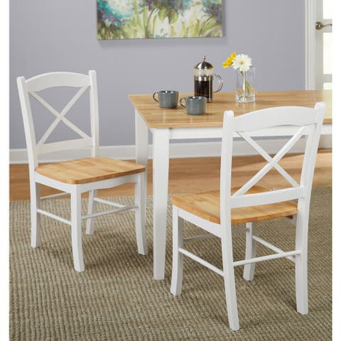 Simple Living Country Cottage Dining Chair (Set of 2)