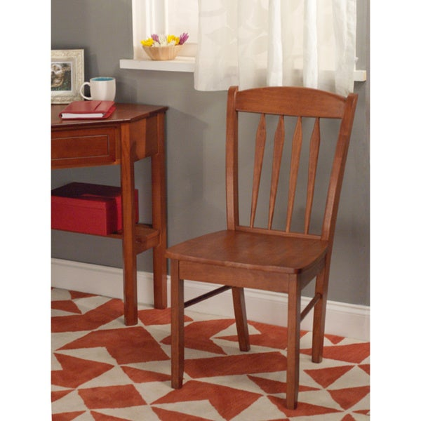 Simple Living Savannah Hardwood Chair Free Shipping Today Overstock 10703462