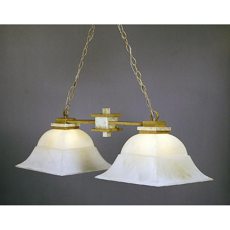 Grecian 2-light Island Light