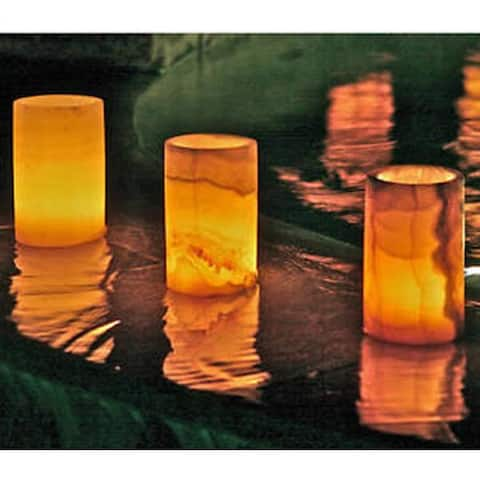 Set of 3 Firenze Votive Candle Holders, Handmade in , Handmade in Egypt