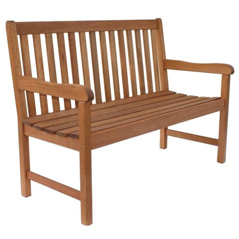 Amazonia Milano Two-seater Patio Bench - N/A