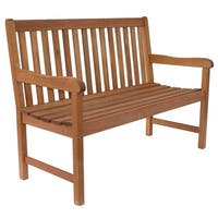 Clay Alder Home Barclay Contemporary Two-seater Patio Bench