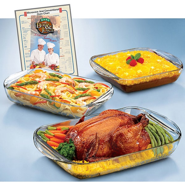 Anchor Hocking Expressions 3-piece Ovenware Set