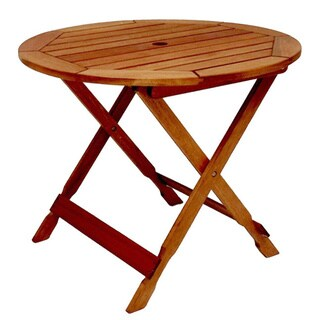 Clay Alder Home Barclay 35-inch Round Wood Bistro Table