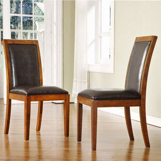 Aiden Dark Chocolate Dining Chairs (Set of 2)