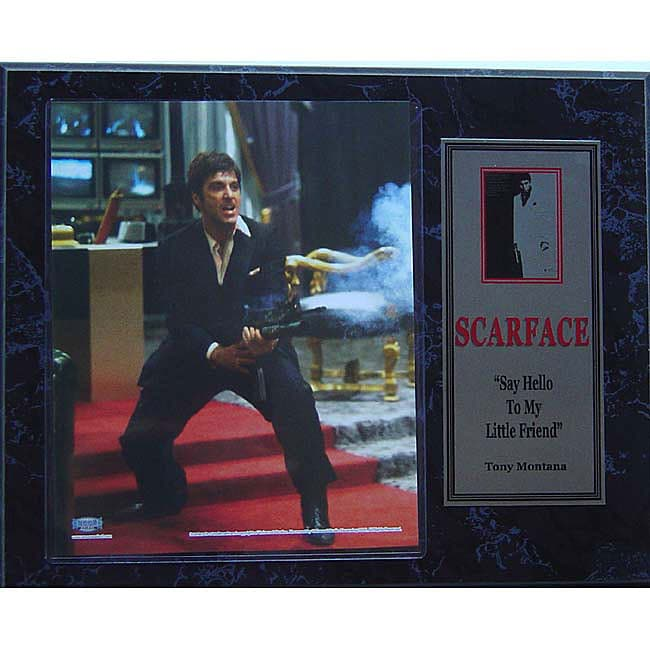Scarface Plaque (12 x 15)