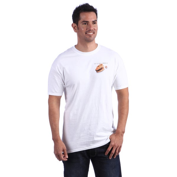 It's All About Baseball Men's White T-shirt