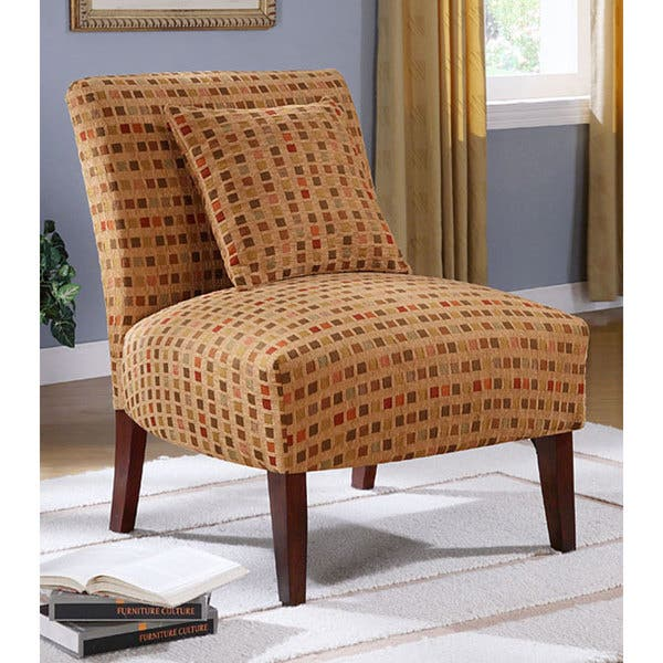 Enjoyable Shop Autumn Windows Accent Chair Free Shipping Today Bralicious Painted Fabric Chair Ideas Braliciousco