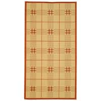"Safavieh Regal Natural/ Terracotta Indoor/ Outdoor Rug - 2'-7"" x 5'"