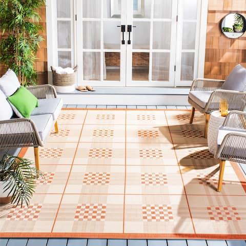 Safavieh Courtyard Jeraldine Indoor/ Outdoor Rug