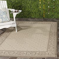 Safavieh Bay Natural/ Brown Indoor/ Outdoor Rug - 2'7 x 5'