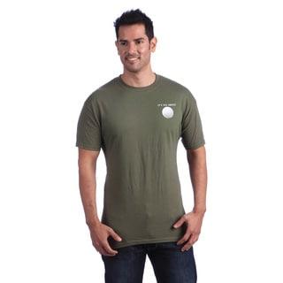It's All About Golf Men's Green T-shirt