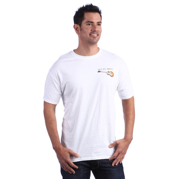 It's All About Guitars Men's White T-shirt