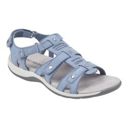 Women's Easy Spirit Sailors Sandal Light Blue Nubuck