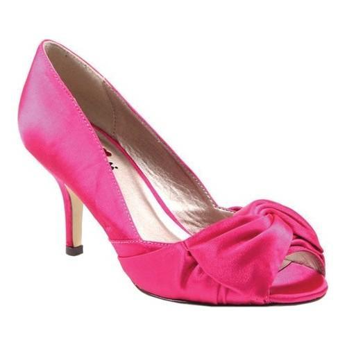 Shop Women s Luichiny Best One Yet Open Toe Pump Fuchsia Satin - Free  Shipping On Orders Over  45 - Overstock.com - 21153058 3dc3b41b2