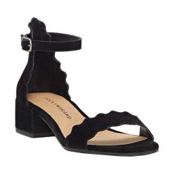 Women's Lucky Brand Norreys Ankle Strap Sandal Black Suede