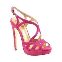 Women's Luichiny Blue Spring Stiletto Sandal Pink IMI Suede