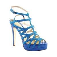 Women's Luichiny Fare Lee Stiletto Sandal Dark Blue IMI Suede