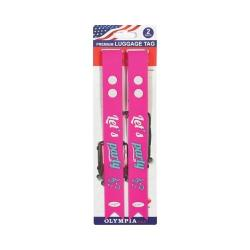 Olympia 2-Piece Luggage Long Tag Set Party