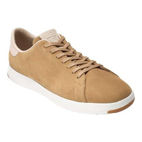 b32a0834e78f Shop Men s Cole Haan GrandPro Tennis Sneaker Iced Coffee Suede Madras  Lining - Free Shipping Today - Overstock - 21183033