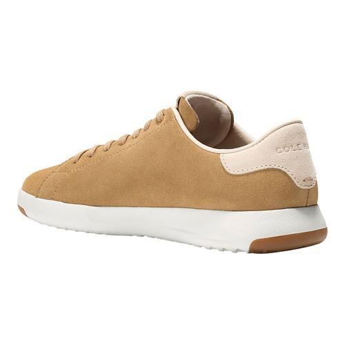 Men's Cole Haan GrandPro Tennis Sneaker, Size: 10 W, Iced Coffee Suede/Madras Lining
