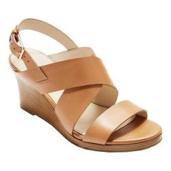 Women's Cole Haan Penelope Wedge II Sandal Pecan Leather